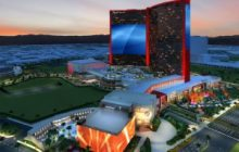 Resorts World Las Vegas visar upp gigantisk LED-skärm på West Hotel Tower