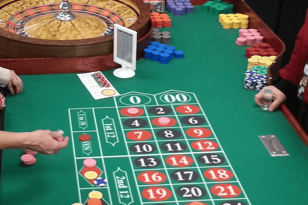 Roulette tabell